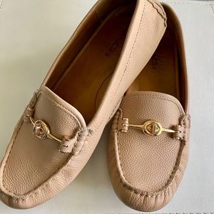 Coach Arlene Leather Loafers